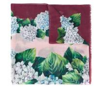 Schal mit Blumen-Print - women - Seide/Kaschmir
