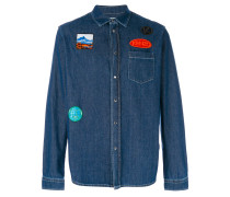 Jeanshemd mit Patches