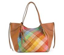 Handtasche mit geflochtenem Desing