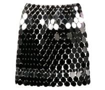 metallic pailette skirt