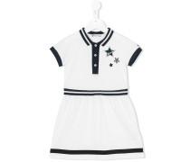 Poloshirtkleid mit Querstreifen