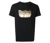 T-Shirt mit Hotdog-Print