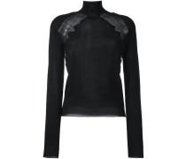 'Leisuring' Pullover mit Spitze