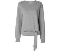 Sweatshirt mit Schnürdetail