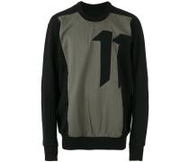 Sweatshirt mit Nummer-Print
