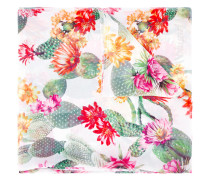 - Schal mit floralem Print - women - Polyester