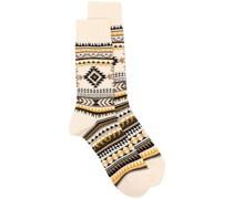 Nordic Intarsien-Socken
