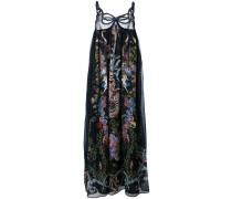 - Maxikleid mit floralem Print - women - Seide