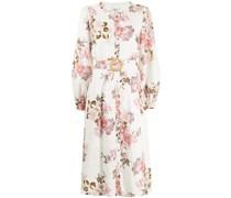 Audrey Hemdkleid mit Blumen-Print