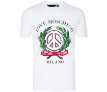 T-Shirt mit 'Peace'-Print