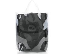 Transparenter Rucksack - men - Papier/Nylon/PVC