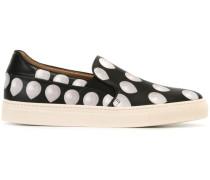 Slip-On-Sneakers mit Ballon-Print