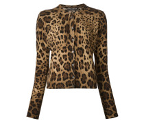 Cardigan mit LeopardenPrint