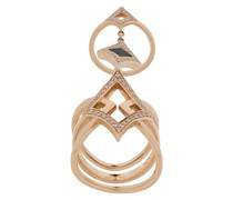 18kt 'Oneness' Rotgoldring