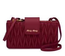 Mini-Tasche aus Matelassé-Leder