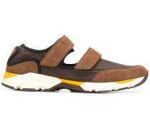 Sneakers mit Cut-Out - men - Leder/Nylon/rubber