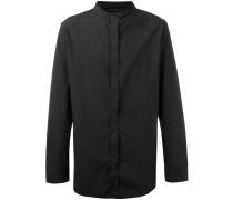 Hemd ohne Kragen - men - Baumwolle/Elastan - S