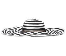 Gestreifter Hut mit breiter Krempe - women