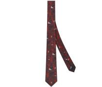 """Krawatte mit """"Bag Bugs""""-Print"""