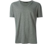 T-Shirt mit tiefem Ausschnitt