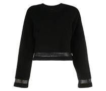 Kurzer Frottee-Pullover