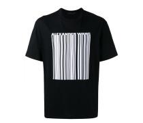 T-Shirt mit Barcode-Print - men - Baumwolle - 46