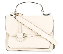 small top handle crossbody bag
