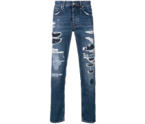 'Keith' Jeans im Destroyed-Look