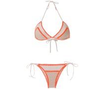 Bikini mit Häkeldetails