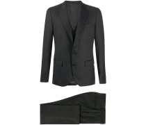 Dreiteiliger Jacquard-Anzug