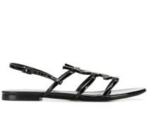 Sandalen mit Logo