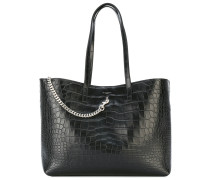 - Handtasche mit Krokodil-Effekt - women