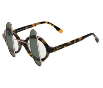 Sonnenbrille mit abnehmbaren Gläsern