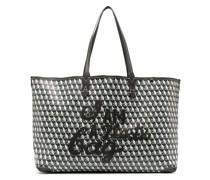 Shopper mit geometrischem Print