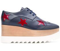 Flatform-Sneakers mit Sternen
