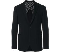 semi-lined blazer