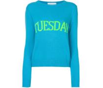 Tuesday intarsia jumper