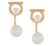 'Gancini' Ohrringe mit Kunstperlen