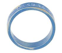 logo embossed ring