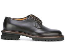 Derby-Schuhe mit geriffelter Sohle