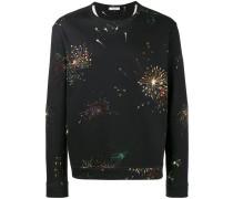 Sweatshirt mit Feuerwerks-Print - men