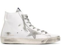 'Francy' High-Top-Sneakers im Used-Look