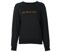 "Sweatshirt mit ""Perfect Day""-Print"