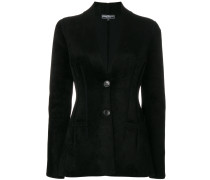 fitted single breasted jacket