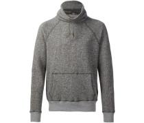 Fleece-Pullover mit Rollkragen