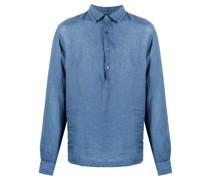 long-sleeve linen shirt