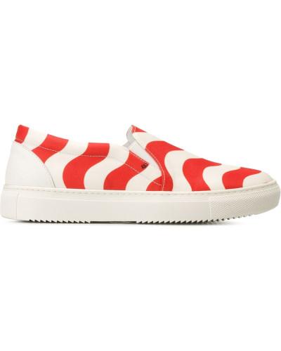 Au Jour Le Jour Damen Slip-On-Sneakers mit Print