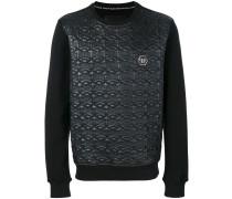 Sweatshirt mit Totenkopfmuster