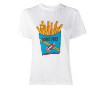 rocket fries print t-shirt
