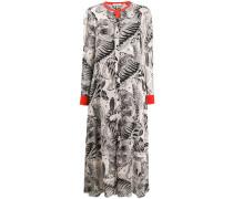 Kleid mit Tiger-Print